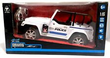 1:16 RC Ferngesteuertes Polizeiwagen JEEP SUV POLICE POLIZEI auto Fernbedienung