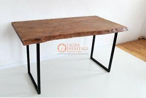 epoxy table, outdoor furniture Acacia wood epoxy wood resin dining custom table