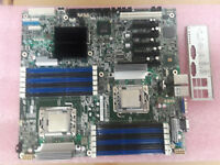 Intel S5520HCR S5520HC, LGA1366 with 2 x Xeon X5670 & I/O Shield