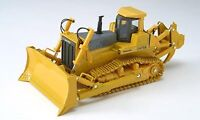 New! Komatsu yellow bulldozer D475A with R Diecast Model f/s from Japan
