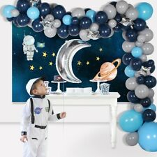 111Pcs Blue Balloon Arch Kits Garland Foil Kids Birthday Baby Shower Party Decor