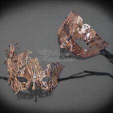Couples Masquerade Mask, His & Hers Set, Masquerade Ball Mask Couple