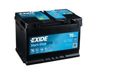 El700 exide EFB start-stop 12v/70ah 720a (s) primera tecnología