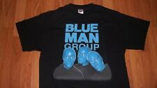 (2 Sided) Large BLUE MAN GROUP Concert T-Shirt mens womens
