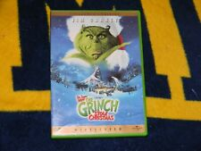 Dr. Seuss How the Grinch Stole Christmas Dvd Widescreen Jim Carey Grinch Movie