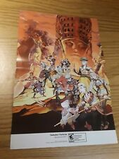 Suikoden: Tierkreis/Tomb Raider Underworld 15.5''x11.5'' Double Sided Poster