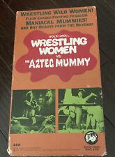 Wrestling Women Vs. the Aztec Mummy (Vhs) Rhino Video Rare Movie Horror