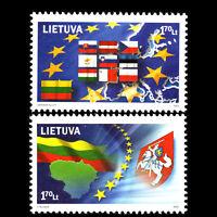 Lithuania 2004 - United Europa - Sc 769a/b MNH