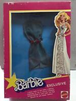 Mattel Barbie VESTITO in VERA PELLE N.3 MIB Vintage Made in ITALY primi anni 80