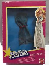 Mattel Barbie VESTITO in VERA PELLE N.3 MIB Vintage Made in ITALY primi anni 80