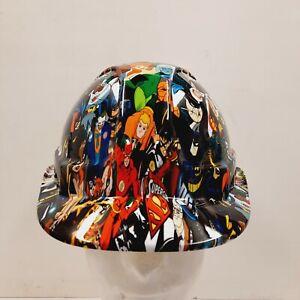 safety hard hat / helmet - DC Super hero design- fully BS EN397 compliant
