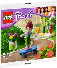 Lego Friends 30101 Mia's Skateboard Polybag promotional BNIP street skater mini