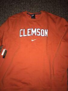 Clemson Tigers Football Nike Club Logo Crew Sweatshirt 3XL
