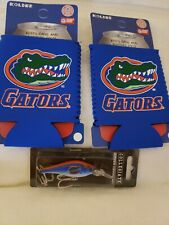 Florida Gators Fishing Lure And Two Koolie Cups