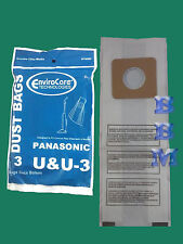 3 Panasonic U U-3 U-6 MC-V145M Vacuum Bag Riccar Simplicity Bernina Fuller Brush