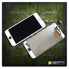 Display LCD per iPhone 6s PLUS RETINA VETRO SCHERMO 3d bianca white top