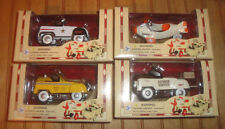 New in package Lot of 4 Golden Wheel Pedal Power diecast 1:10 Kiddie Cars, Plane