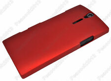 Crimson Hard Case Cover Protector for Sony Xperia S LT26i