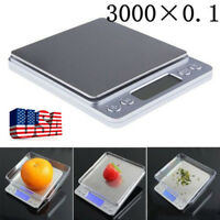 Pocket Digital Jewelry Scale Weight 3000g x 0.1g 0.01g Balance Electronic Gram