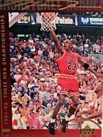 1994-95 Upper Deck Basketball Heroes Jumbo Michael Jordan #43 HOF