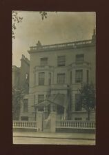 London Kensington 15 Holland Park used c1911 RP PPC written by occupant of house