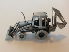 Pewter Case 580E Backhoe
