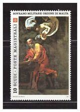 s23551) SMOM 1985 MNH** Caravaggio Painting 1v