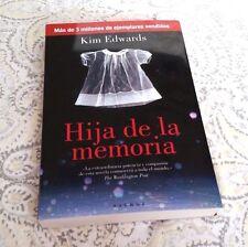 Hija de la Memoria by Kim Edwars, KIM EDWARS and Kim Edwards (2007, Paperback)