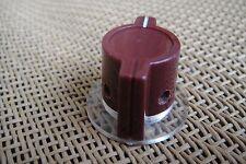 Bakelite Elma Burgundy Marconi Type Skirted Pedal Knob For Neve 1073 1080 1081