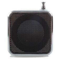 TD-V26 Portable Mini Speaker with Digital and Micro SD TF USB FM Black DT