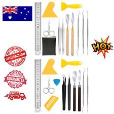 11Pieces Craft Vinyl Weeding Tool Set Basic Vinyl Tool Kit for Silhouettes Cameo