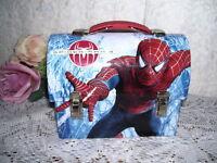 Superman Metal Lunchbox  2007 Marvel Miniature