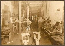 Original Photo c 1915 Kansas City NATIONAL MACHINE SHOP
