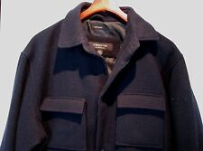 Liz ~ Claiborne Outerwear ~ BLACK ~ 100% Wool Jacket / Coat ~ Size MEDIUM M