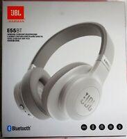 **SEE DETAILS** JBL E55BT Wireless Bluetooth Over-Ear Headphones - White,