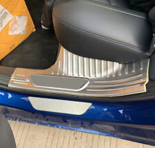 For Tesla Model 3 2018 2019 Interior Door Sill Trim Scuff Plate Protector Cover