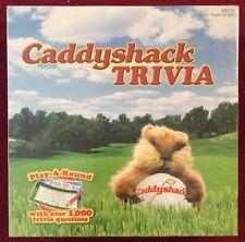 Caddyshack Trivia Game - Over 1,000 Trivia Questions NIB USAopoly
