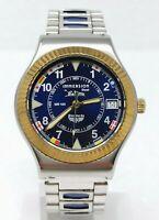 Orologio Immersion steel watch sub 100 meters clock stendardo montre diving