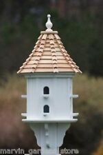 FANCY HOME PRODUCTS BIRDHOUSE CYPRESS SHINGLE ROOF