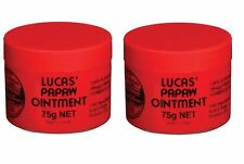 Lucas Papaw Ointment 75g x2 (2 Pack) - Paw Paw Ointment