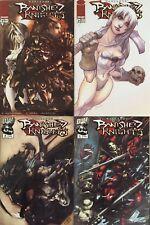 Banished Knights mini-series (Image/DW Comics, 2001-2002)