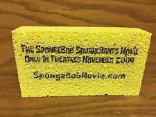 SpongeBob SquarePants 2004 MOVIE Swag Bag Promo Gift Yellow Sponge Bob