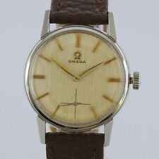 Vintage Omega Stainless Steel Manual Gents Watch