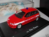 Voiture 1/43 OLIEX FIAT : punto pompiers italie