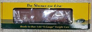 S-Helper Service S Gauge, New York, New Haven & Hartford Box Car Showcase Line