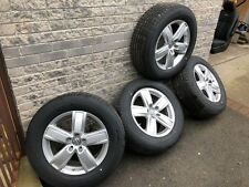 "NEW GENUINE VW AMAROK 18"" ALLOYS OFF 3.0 V6 HIGHLINE WITH BRIDGESTONE TYRES"