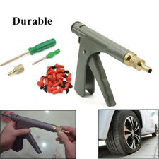 Durable Motorcycle Tire Plugger Tubeless Tyre Wheel Repair Kit w/Plug Gun Rubber