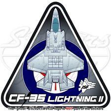 F-35 LIGHTNING II KANADA Lockheed CF-35 JSF Kanadische Luftwaffe RCAF Aufkleber