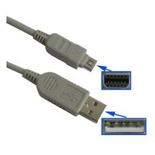 COMPUTER PC USB DATA SYNC WIRE FOR OLYMPUS MJU 850SW 1000 1010 1020 1200 ETC
