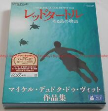 New The Red Turtle Michael Dudok de Wit Collection 2 Blu-ray Booklet Japan F/S
